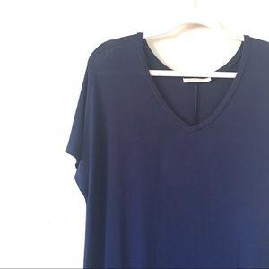Heart & Hips Dresses - Heart + Hips | Navy Tee Dress